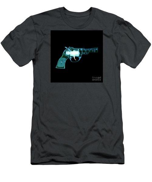 Cowboy Gun 001 Men's T-Shirt (Athletic Fit)