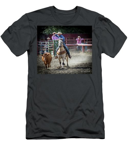 Cowboy In Action#2 Men's T-Shirt (Athletic Fit)