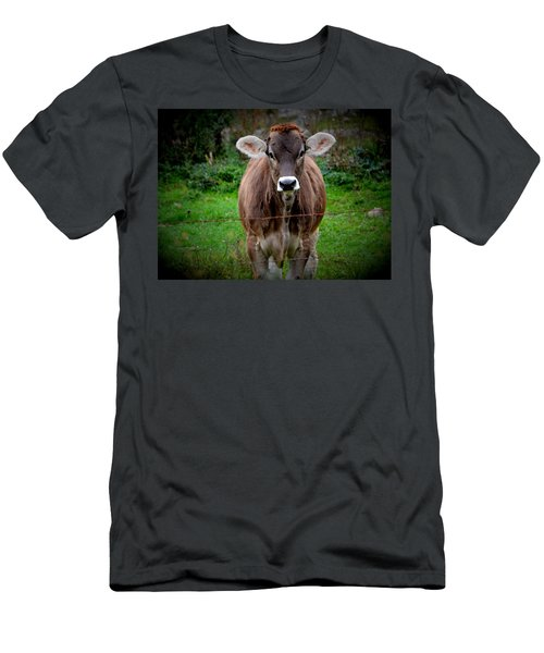 Cowlick Men's T-Shirt (Athletic Fit)