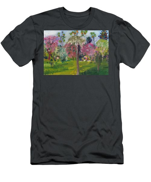 Crab Apple Blossom Time Men's T-Shirt (Athletic Fit)