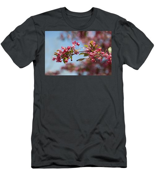 Crabapple In Spring Section 1 Of 4 Men's T-Shirt (Athletic Fit)