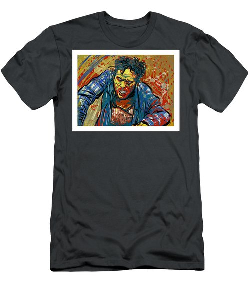 Men's T-Shirt (Athletic Fit) featuring the digital art Crabby Joe by Antonio Romero
