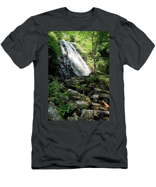 Crabtree Falls Men's T-Shirt (Athletic Fit)