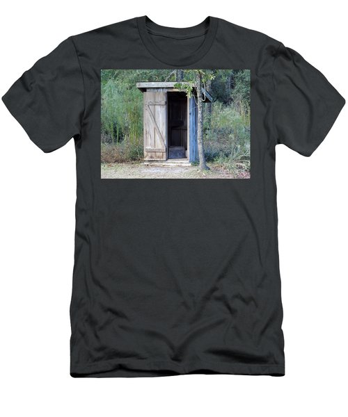 Cracker Out House Men's T-Shirt (Athletic Fit)