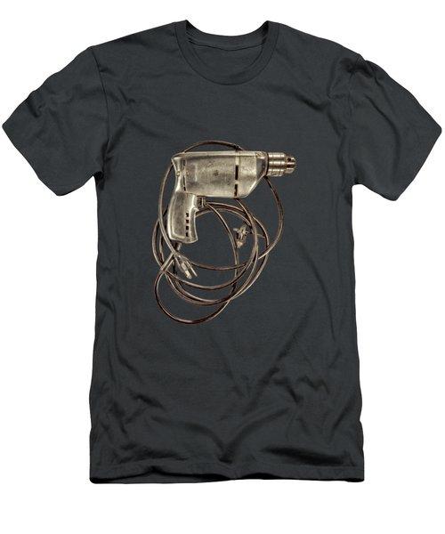 Craftsman Drill Motor Bs On Black Men's T-Shirt (Athletic Fit)