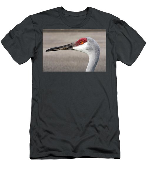 Crane Closeup Men's T-Shirt (Athletic Fit)