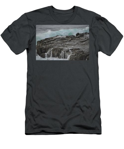 Crashing Wave Men's T-Shirt (Athletic Fit)