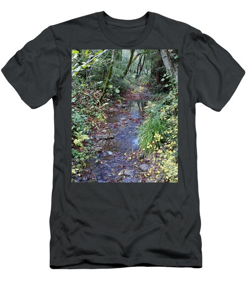 Creek On Mt Tamalpais 2 Men's T-Shirt (Athletic Fit)