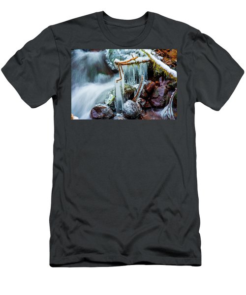 Creekside Icicles Men's T-Shirt (Athletic Fit)