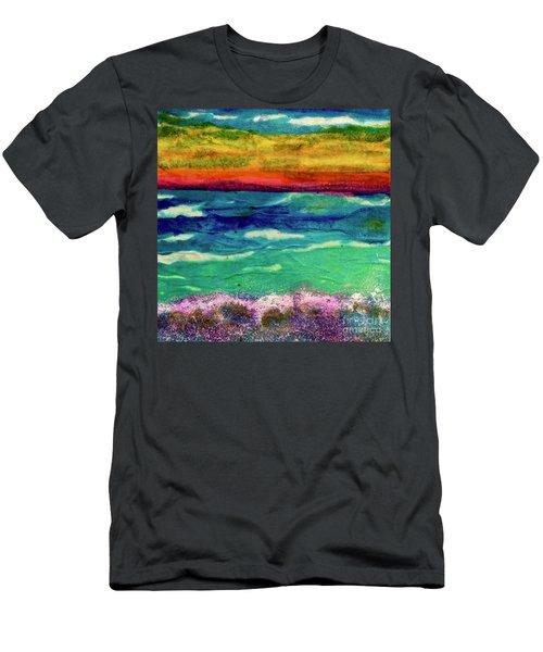 Crepe Paper Sunset Men's T-Shirt (Athletic Fit)