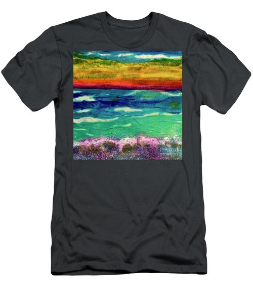 Crepe Paper Sunset Men's T-Shirt (Athletic Fit)