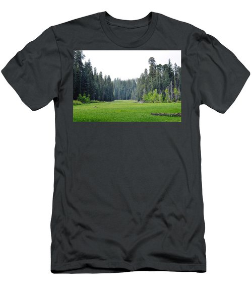 Men's T-Shirt (Slim Fit) featuring the photograph Crescent Meadow by Kyle Hanson