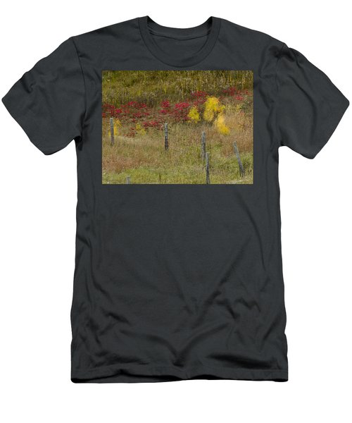 Crimson And Gold Men's T-Shirt (Athletic Fit)