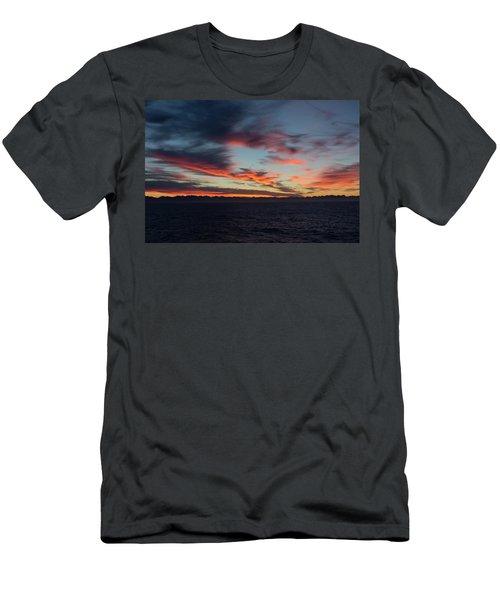 Crimson Morning Men's T-Shirt (Athletic Fit)