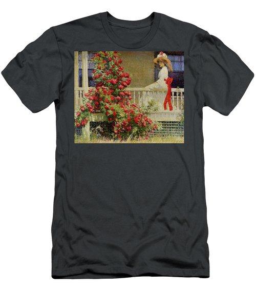 Crimson Rambler Men's T-Shirt (Athletic Fit)
