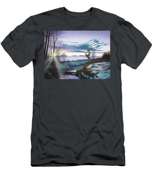 Crisp Winter Light Men's T-Shirt (Athletic Fit)