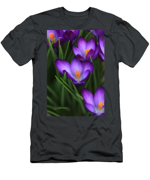 Crocus Vividus Men's T-Shirt (Athletic Fit)