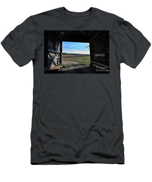 Crooks Bridge Men's T-Shirt (Slim Fit) by Joanne Coyle