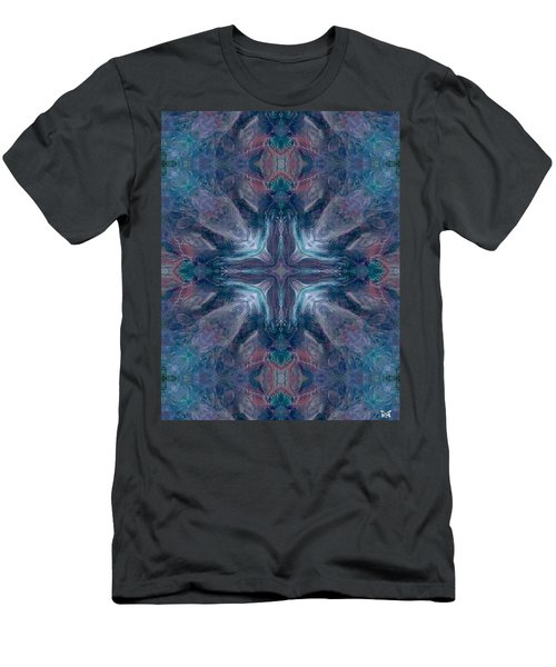 Cross Of Mentors Men's T-Shirt (Slim Fit) by Maria Watt
