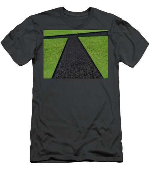Men's T-Shirt (Slim Fit) featuring the photograph Cross Roads by Paul Wear