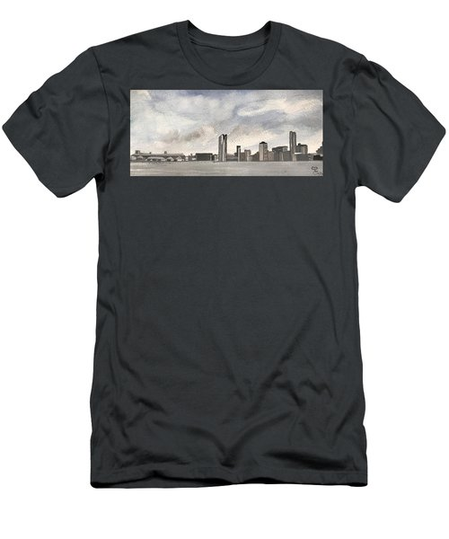 'cross The Mersey Men's T-Shirt (Athletic Fit)