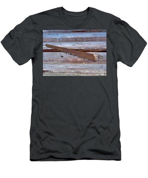 Crosscut Saw Men's T-Shirt (Athletic Fit)