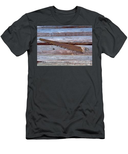 Crosscut Saw Men's T-Shirt (Athletic Fit)