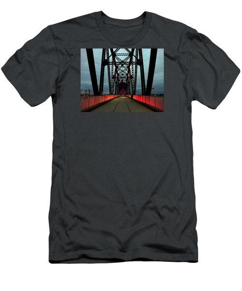 Crossing The Bridge Men's T-Shirt (Athletic Fit)