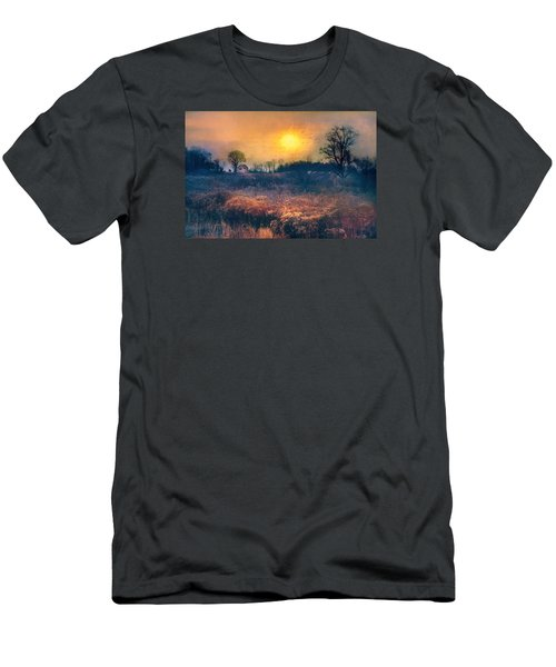 Crossing Through The Meadows Men's T-Shirt (Athletic Fit)