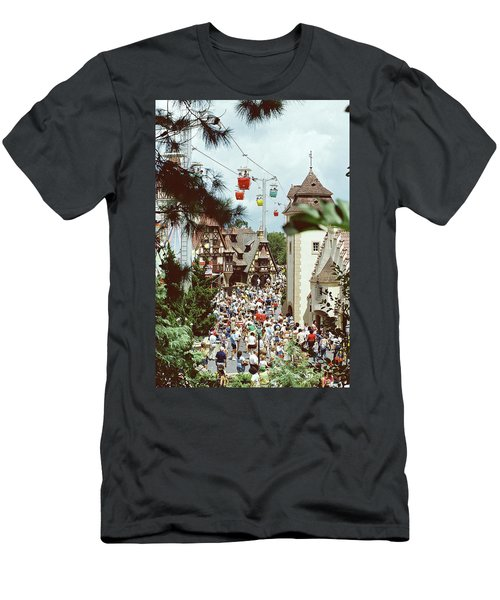 Men's T-Shirt (Athletic Fit) featuring the photograph Crowded by John Schneider