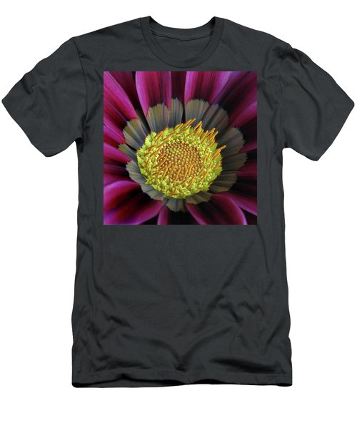 Men's T-Shirt (Slim Fit) featuring the photograph Crown Of Pollen by David and Carol Kelly