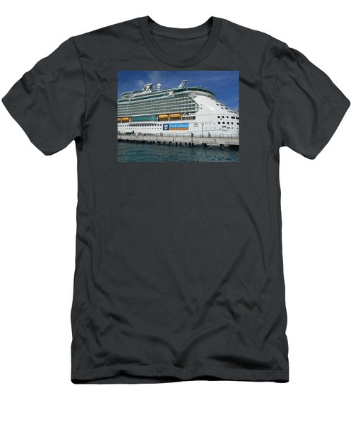 Cruise Ship Men's T-Shirt (Slim Fit) by Kathleen Peck