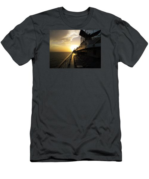 Cruisin' At Sunset Men's T-Shirt (Athletic Fit)