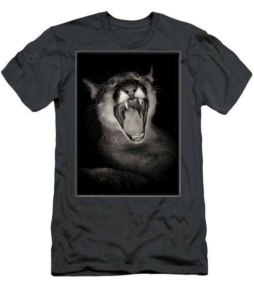 Cruz Yawning Men's T-Shirt (Athletic Fit)