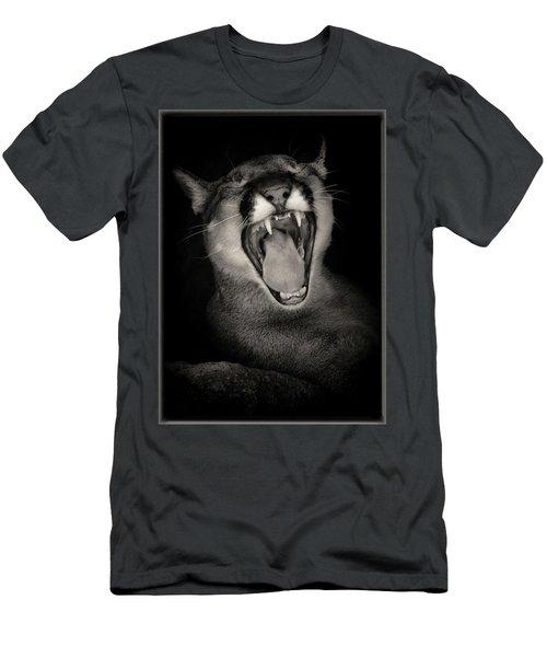 Cruz Yawning Men's T-Shirt (Athletic Fit)