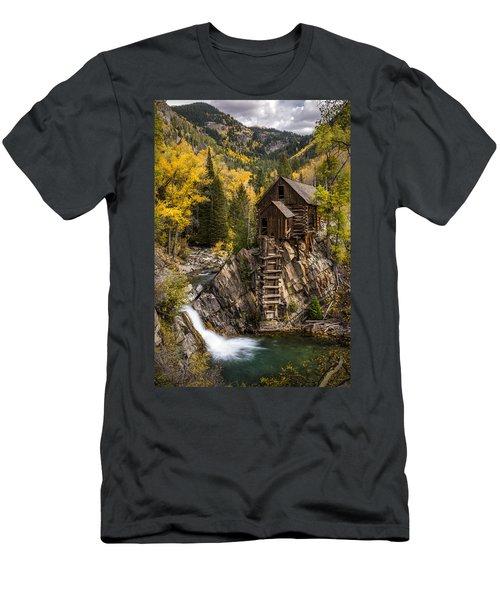Crystal Autumn Men's T-Shirt (Athletic Fit)