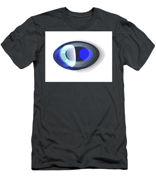 Crystal Eye Men's T-Shirt (Slim Fit) by Thibault Toussaint