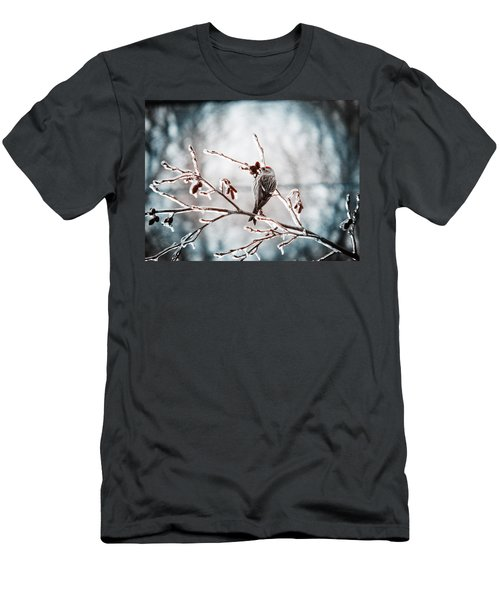 Crystal Morning Joy Men's T-Shirt (Slim Fit) by Zinvolle Art