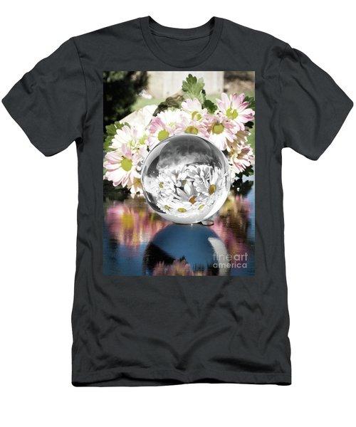 Crystal Reflection Men's T-Shirt (Slim Fit)