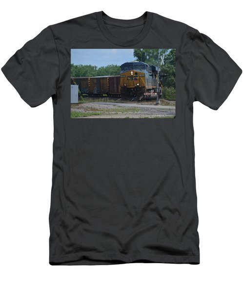 Csx In Hamlet, Nc Men's T-Shirt (Athletic Fit)