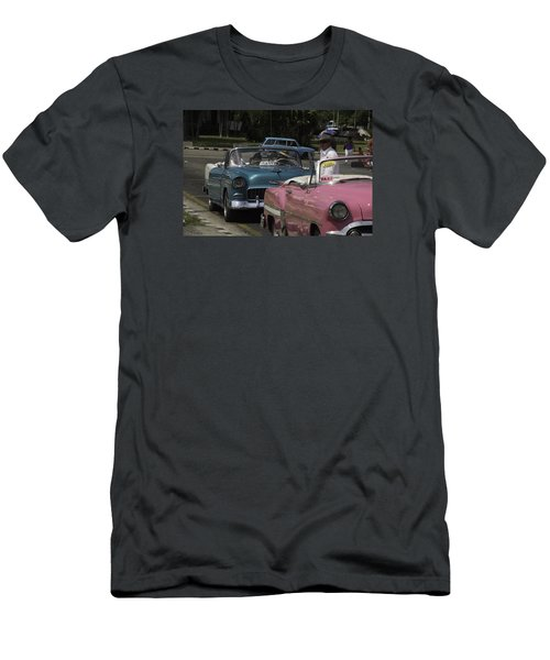 Cuba Car 4 Men's T-Shirt (Slim Fit) by Will Burlingham