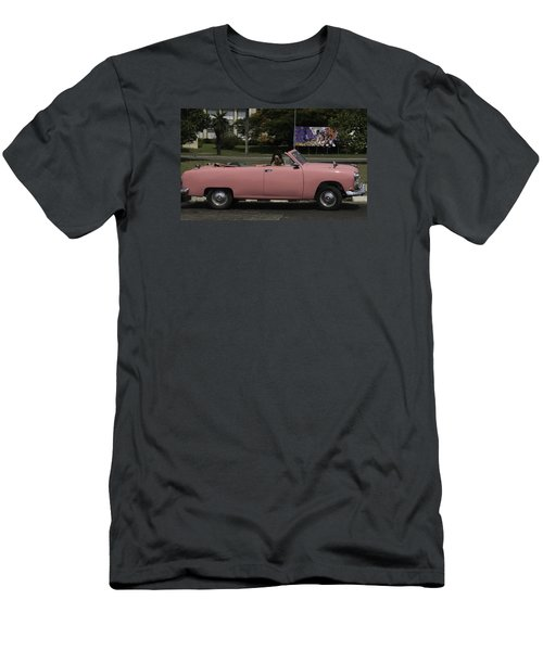 Cuba Car 5 Men's T-Shirt (Slim Fit) by Will Burlingham
