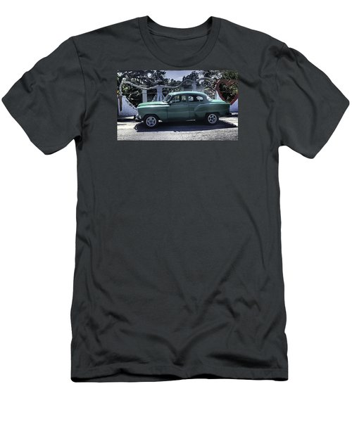 Cuba Car 8 Men's T-Shirt (Slim Fit) by Will Burlingham