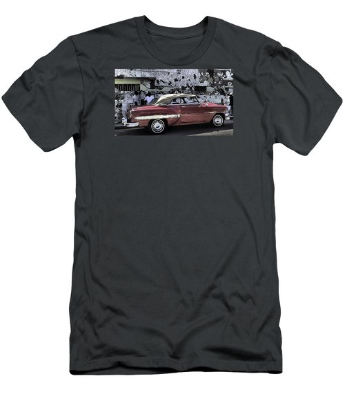 Cuba Cars 2 Men's T-Shirt (Slim Fit) by Will Burlingham