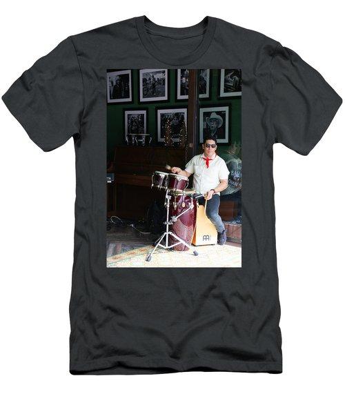 Cuban Band Men's T-Shirt (Athletic Fit)