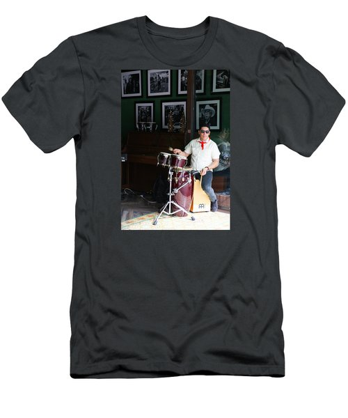 Cuban Band Men's T-Shirt (Athletic Fit)