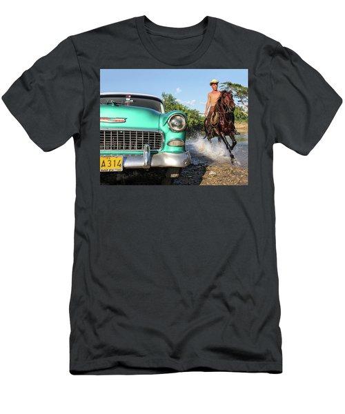 Cuban Horsepower Men's T-Shirt (Athletic Fit)