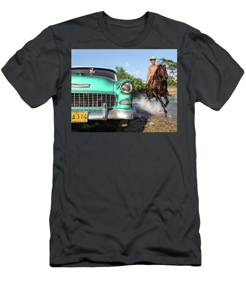 Cuban Horsepower Men's T-Shirt (Athletic Fit)