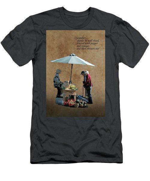Cucumber Men's T-Shirt (Athletic Fit)