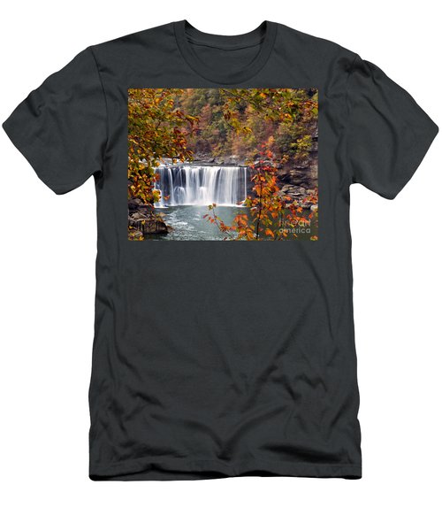 Cumberland Falls Two Men's T-Shirt (Athletic Fit)